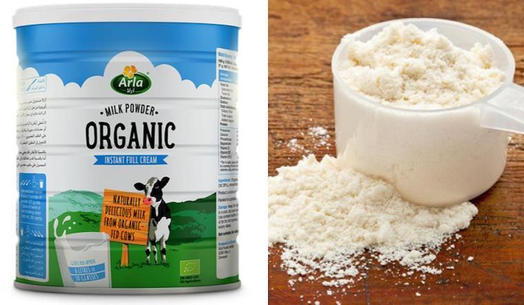 Sữa bột công thức hữu cơ khác gì với sữa bột thông thường?