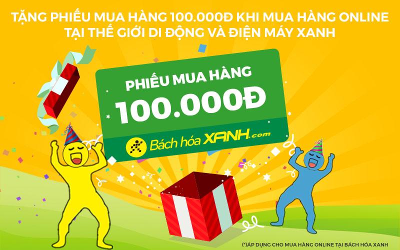 Tặng PMH BachhoaXANH.com khi mua sắm tại TGDD & DMX Online