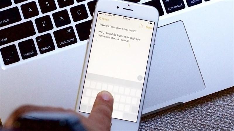Gõ bàn phím trên iPhone nhanh hơn bàn phím cơ của laptop với 8 mẹo này