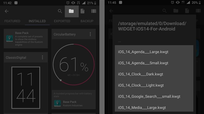 Mẹo nhỏ giúp mang Widget trên iOS 14 lên điện thoại Android của bạn