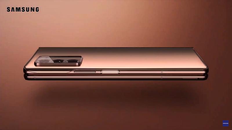 Thiết kế Samsung Galax Z Fold 2