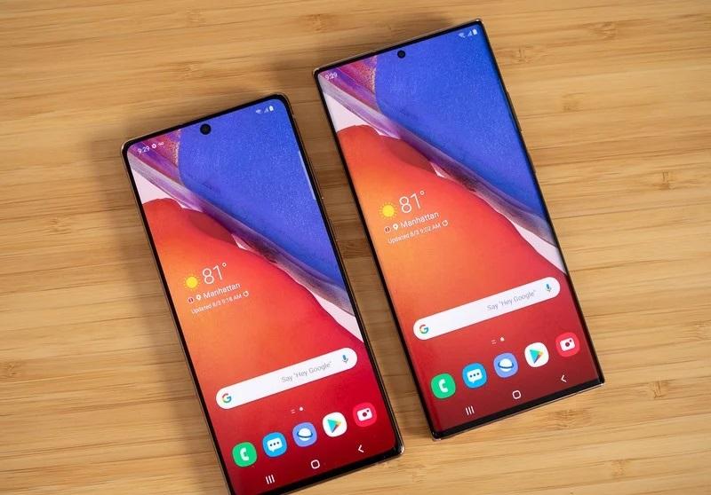 Samsung Galaxy Note 20 và Note 20 Ultra.
