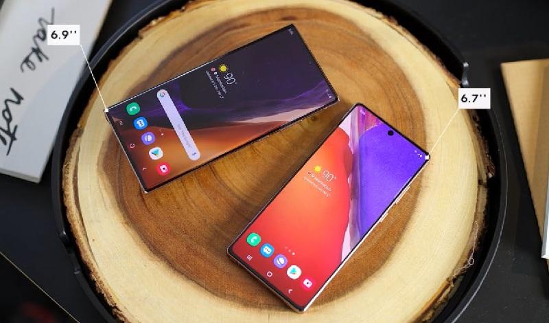 Bộ đôi Samsung Galaxy Note 20 và Note 20 Ultra