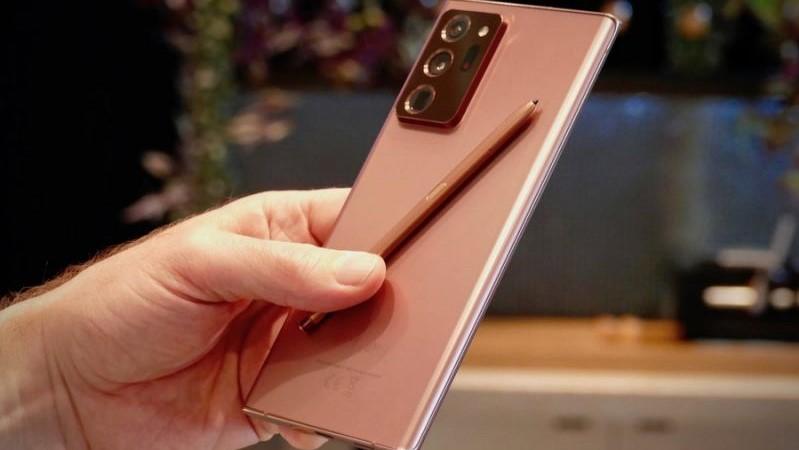 S-Pen trên Galaxy Note 20 Ultra