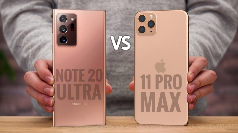 Note 20 Ultra vs iPhone 11 Pro Max