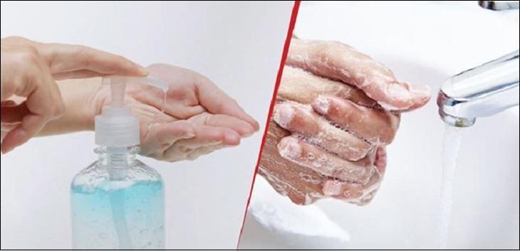 Ưu - nhược điểm của nước rửa tay khô và xà phòng