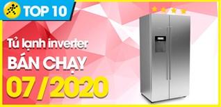 Top 10 tủ lạnh Inverter bán chạy nhất tháng 07/2020 tại Điện máy XANH