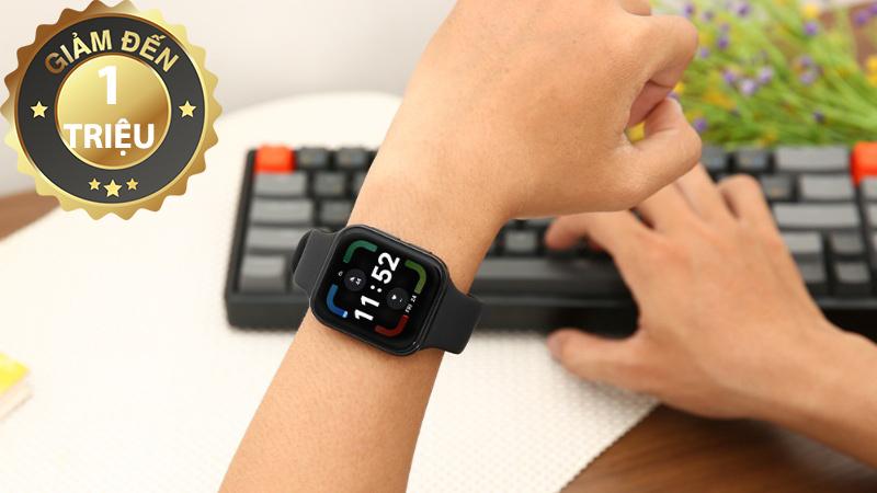 Đồng hồ thông minh OPPO Watch 41mm dây silicone đen