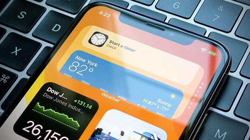 Cách đem màn hình widget trên iOS 14 sang điện thoại Android của bạn