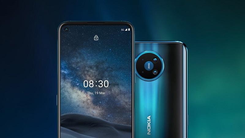 Nokia 8 V 5G UW lộ điểm sức mạnh trên Geekbench