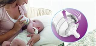 Hướng dẫn lắp núm ti bình sữa Philips Avent cho bé đúng chuẩn
