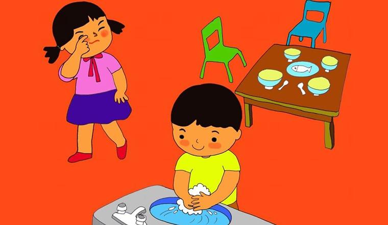 Bật mí 11 cách vui nhộn để mẹ giúp bé rửa tay thường xuyên