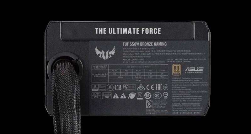 ASUS ra mắt bộ nguồn máy tính dành cho game thủ TUF Gaming Bronze, đạt chứng nhận quân sự, bảo hành lên tới 6 năm