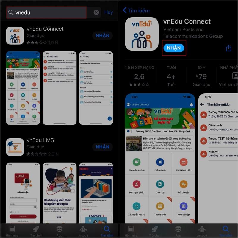 Nhận ngay 2GB data khi đăng nhập ứng dụng vnEdu Connect