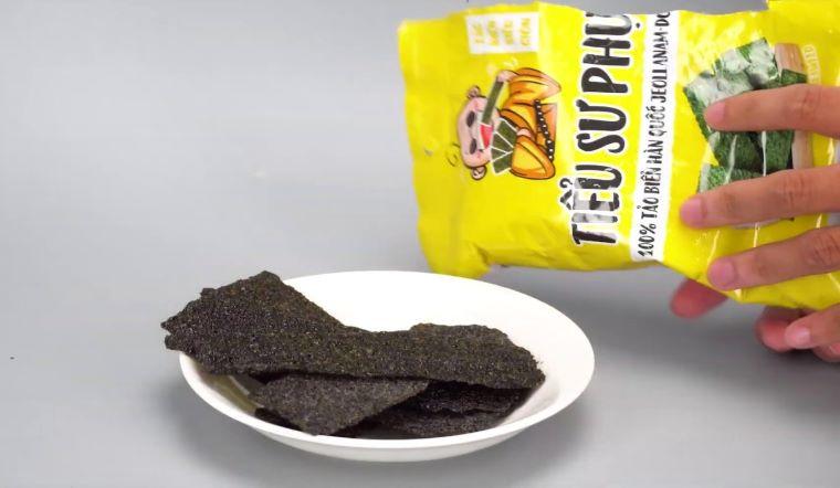 Các loại snack rong biển Tiểu Sư Phụ được nhiều người chọn mua nhất