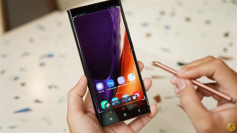 Thiết kế Samsung Galaxy Note20 Ultra