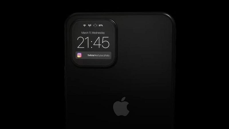 Xuất hiện mẫu thiết kế iPhone 12 cực độc đáo với hệ thống 4 camera sau có thể trở thành 4 màn hình phụ để hiển thị thông tin