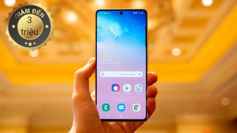 Samsung Galaxy S10 Lite giảm giá hot
