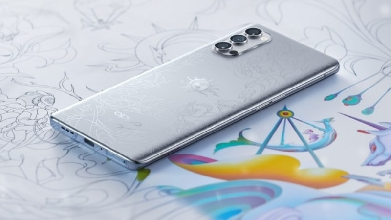 OPPO Reno4 Pro Artist Limited Edition ra mắt: Thiết kế dựa trên Lễ hội mùa hè của những giấc mơ, giá 14.3 triệu đồng