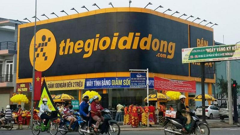 Một cửa hàng Thegioididong