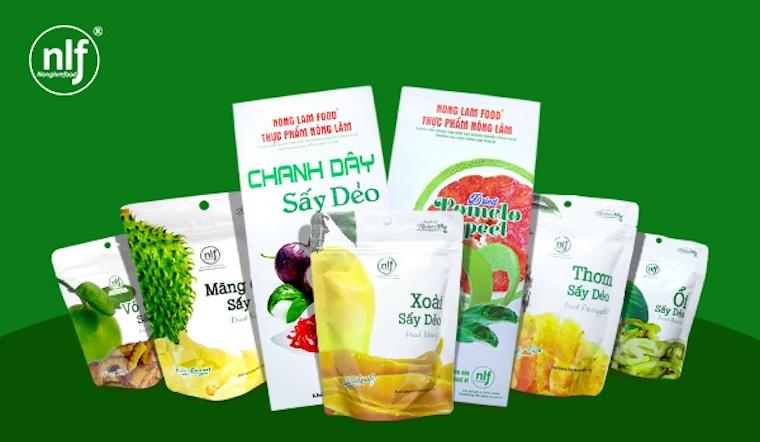 Trái cây sấy dẻo Nong Lam Food có những loại nào?