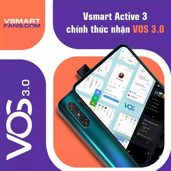 VinSmart phát hành bản cập nhật VOS 3.0 cho Vsmart Active 3