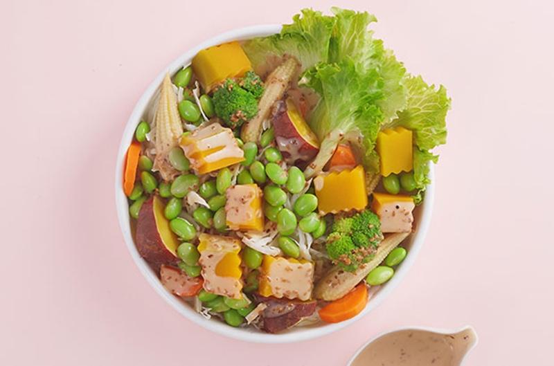 Salad bí đỏ đậu nành