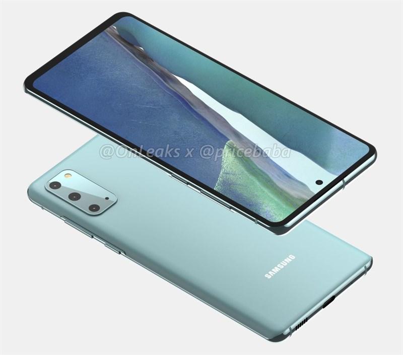 Mặt lưng của Samsung Galaxy S20 FE 5G