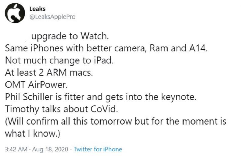 iPhone 12 sẽ có bộ nhớ RAM lớn hơn, camera được cải tiến