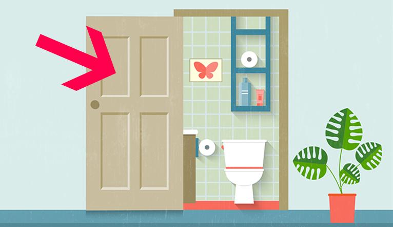 Nên để cửa phòng tắm mở hay đóng sau khi dùng? Câu trả lời khiến nhiều người phải kinh ngạc