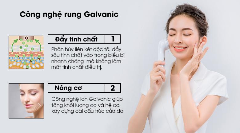 Công dụng của công nghệ Galvanic