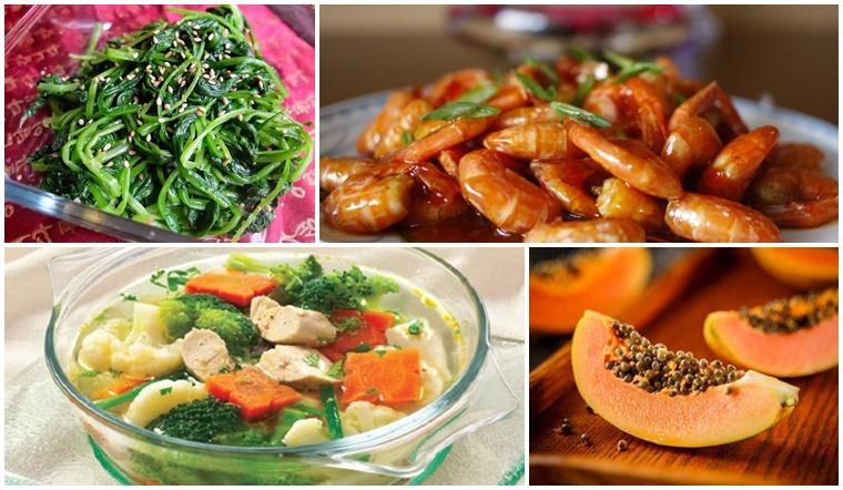 Gợi ý mâm cơm đầy đủ dưỡng chất, giúp tăng cường sức đề kháng phòng ngừa virus Corona