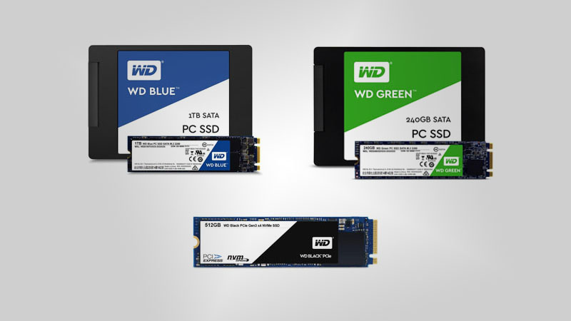 SSD types