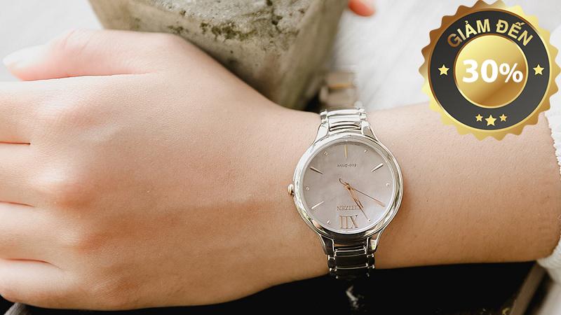 Đồng hồ Nữ Citizen EM0558-81Y - Eco-Drive