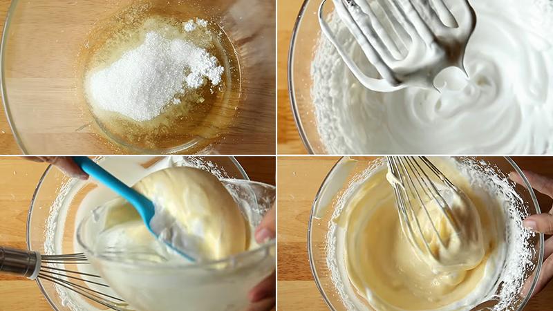 Cách làm bánh kem bắp bằng nồi cơm điện tại nhà