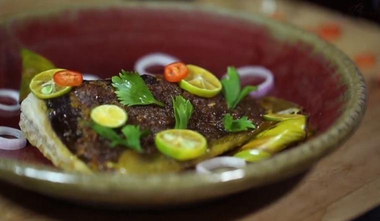 Cách làm cá đuối nướng sambal - món ăn đặc sản của Singapore