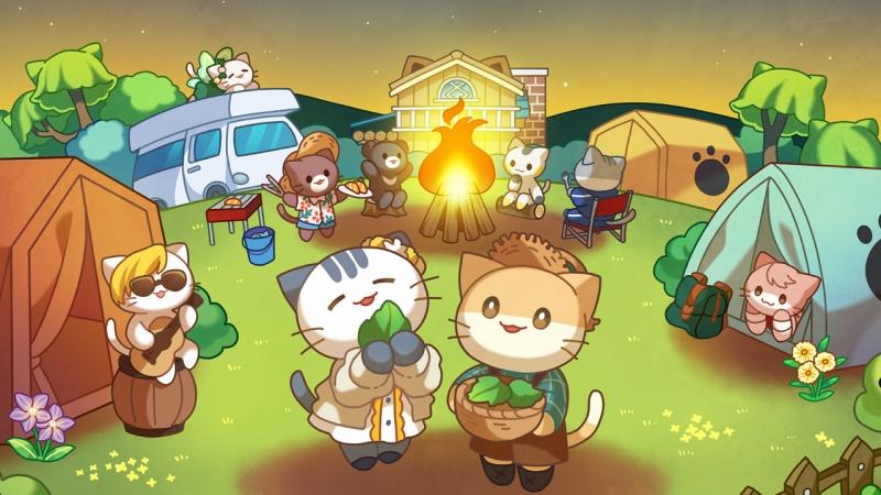 Hình ảnh trong game Cat Forest: Healing Camp
