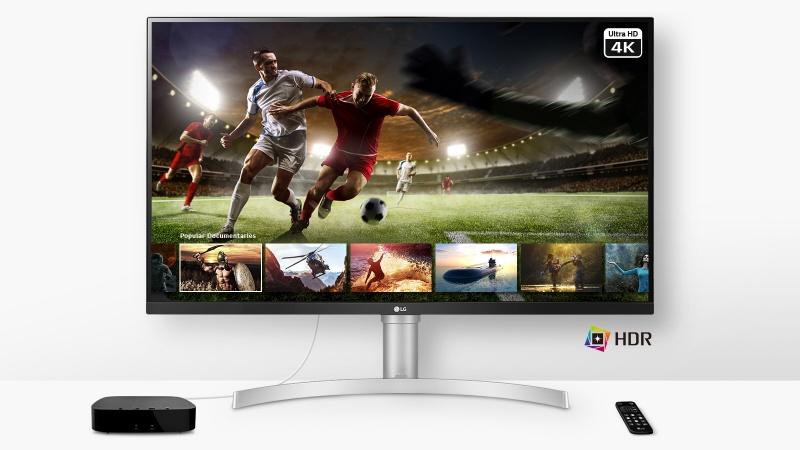 LG ra mắt màn hình UHD 31.5 inch với gam màu rộng 95% DCI-P3, tích hợp loa âm thanh nổi, đáng mua để chơi game