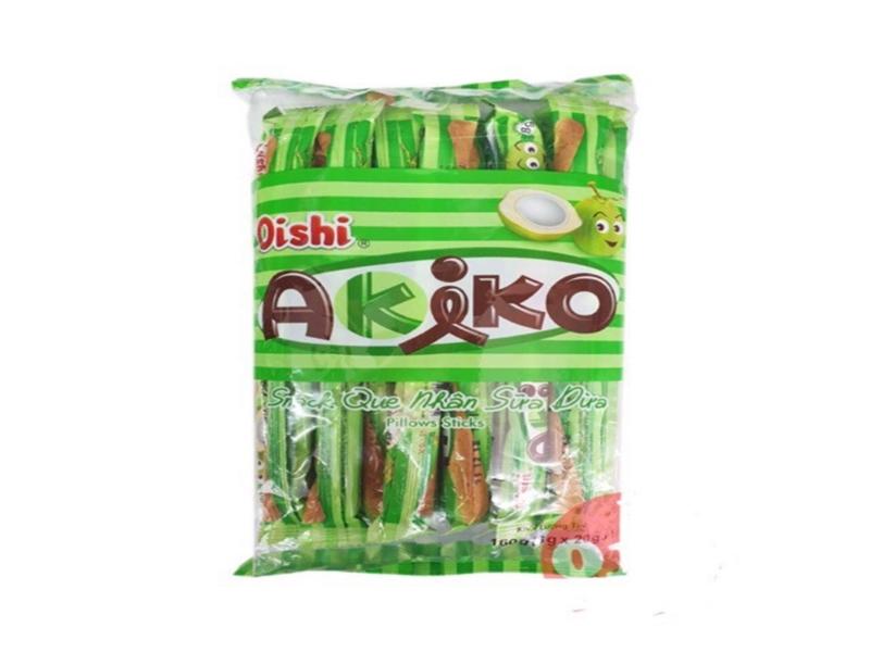 Snack Akiko nhân sữa dừa