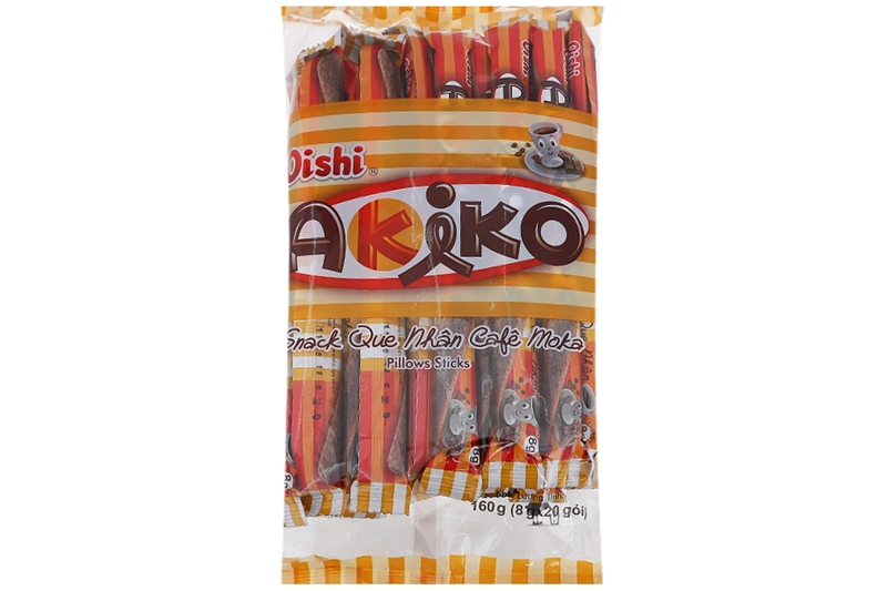 Snack Akiko nhân cà phê Moka