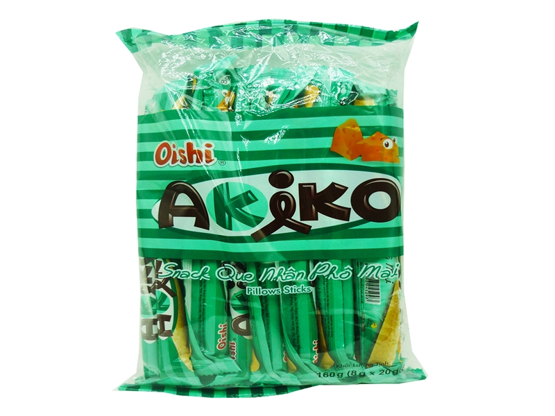 Snack que nhân phô mai Akiko