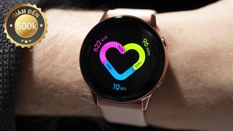 Đồng hồ, vòng tay Samsung giảm tới 500k