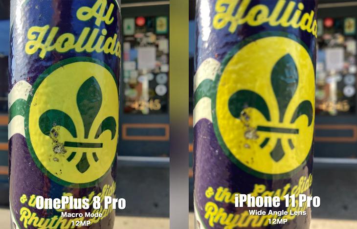 Chế độ macro trên OnePlus 8 Pro