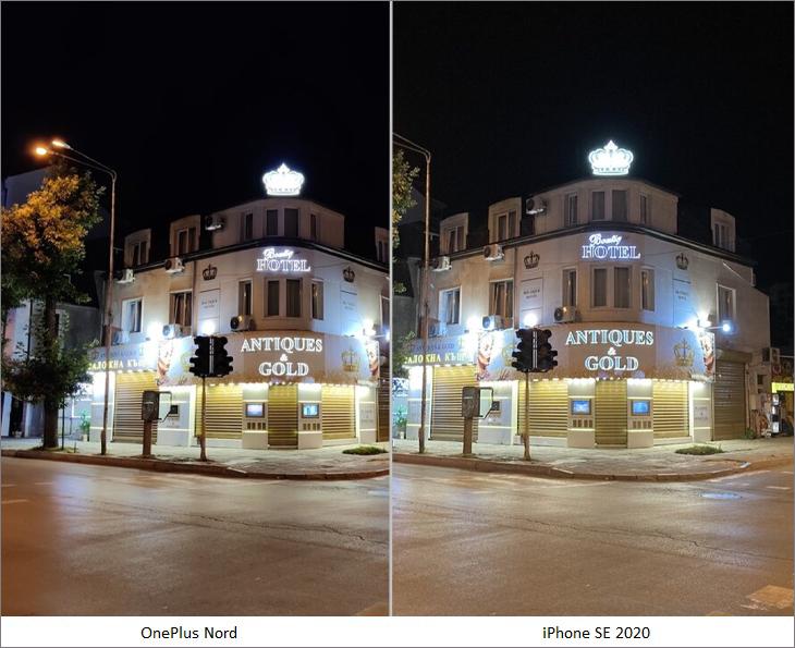so sánh khả năng chụp ban đêm
