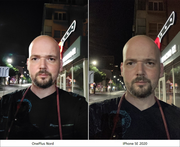 ảnh selfie buổi tối