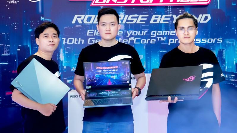 ASUS republic of Gamers ra mắt ROG Zephyrus Duo 15 và dải sản phẩm sử dụng CPU Intel Core thế hệ thứ 10 tại Việt Nam