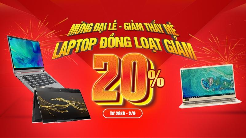 Laptop giảm lớn