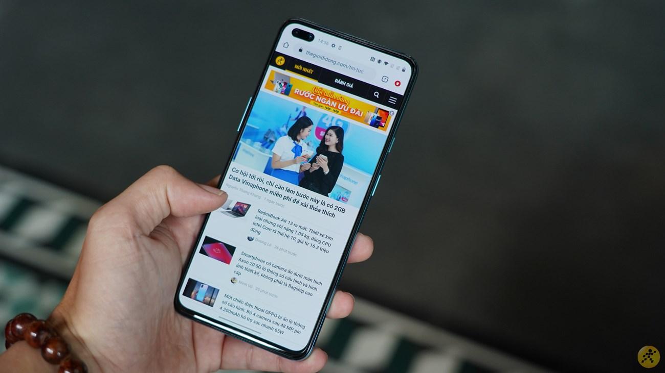 Trải nghiệm màn hình OnePlus Nord 5G mượt mà
