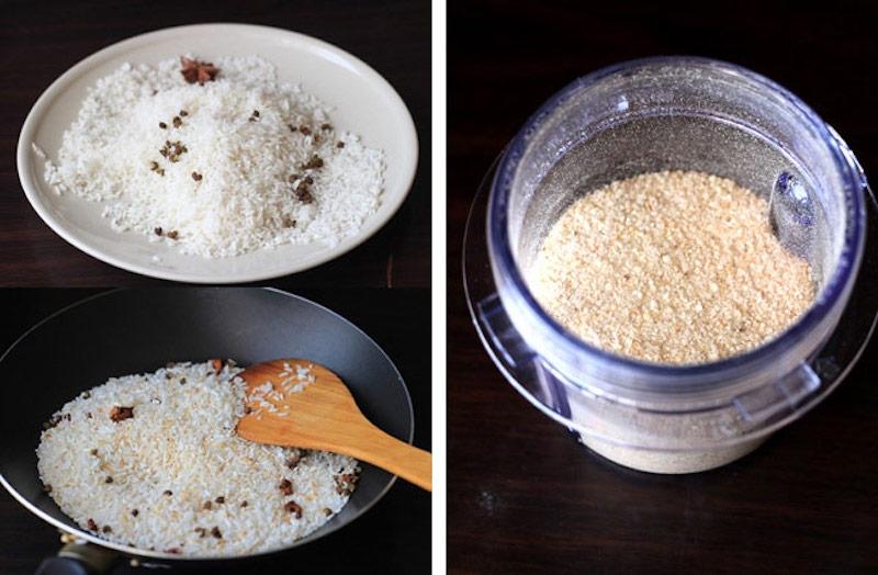 Bạn không nên xay gạo quá mịn