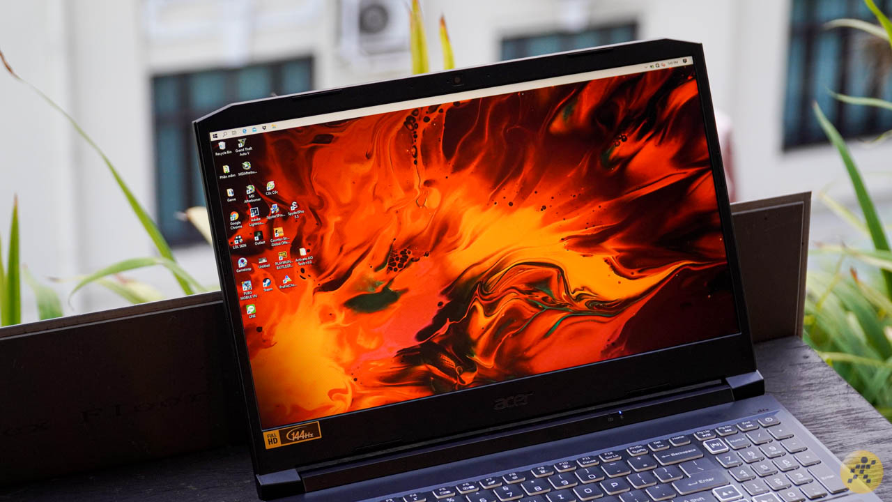 The display of Acer Nitro 5